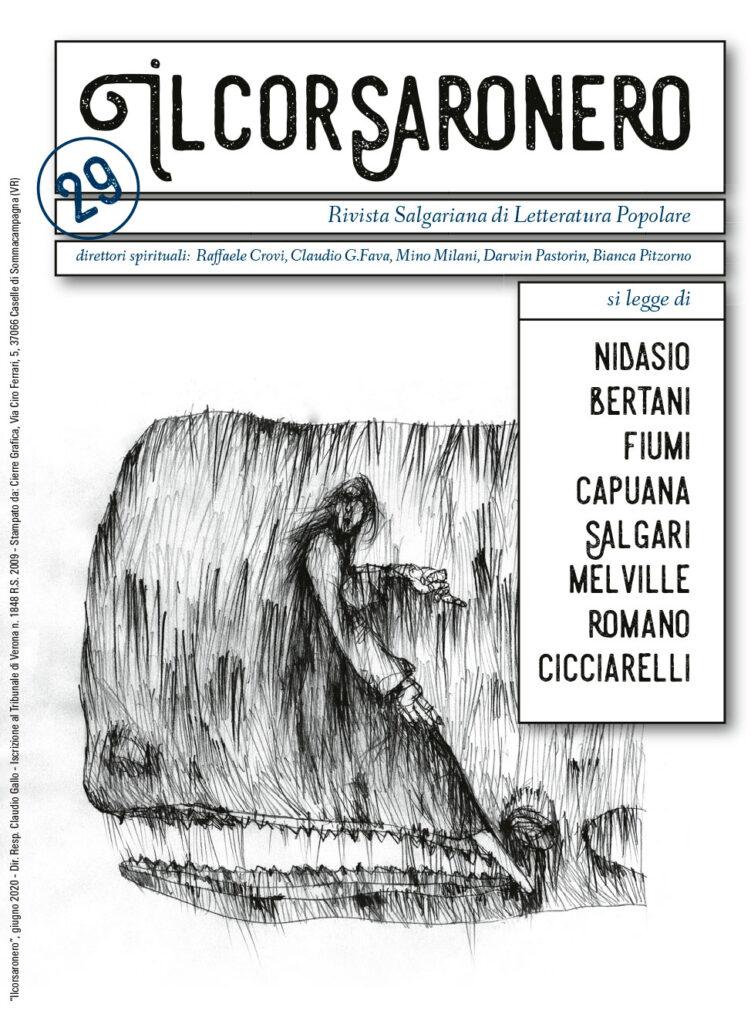Ilcorsaronero. Rivista salgariana di letteratura popolare, copertina numero 29